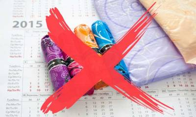 Não menstruar