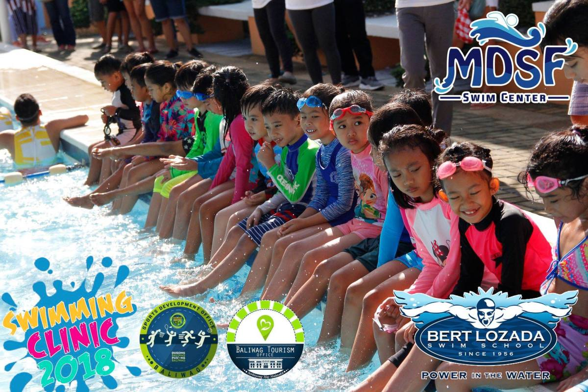 MDSF Swim Center Supports LGU's Free Summer Workshop
