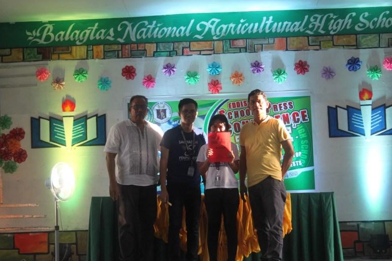 Sagradan Penpushers notch triumph in EDDIS Group Confab