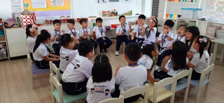 Preschool Sagradans Happy United Nations Month 2019