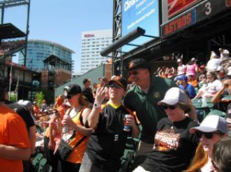 MDSGA at Orioles game.