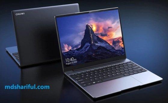 CHUWI GemiBook Pro design