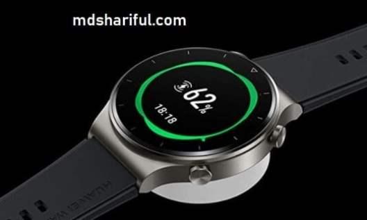 Huawei Watch GT2 Pro charging