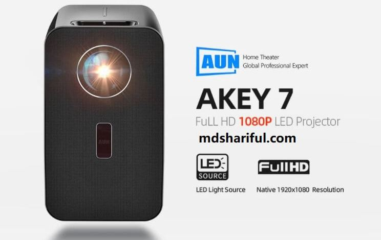 AUN AKEY7 LCD LED Projector