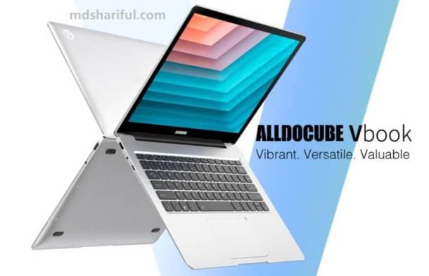 Alldocube VBook design