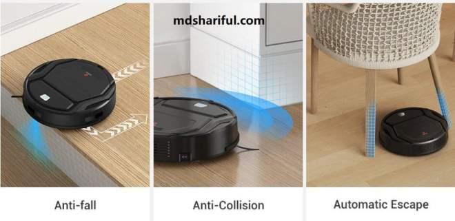 Lefant M201 Robot Vacuum more