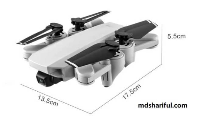S103 RC Drone fold