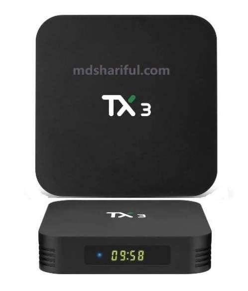 Tanix TX3 S905X3