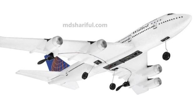 WLtoys XK A150 Airbus B747 flying