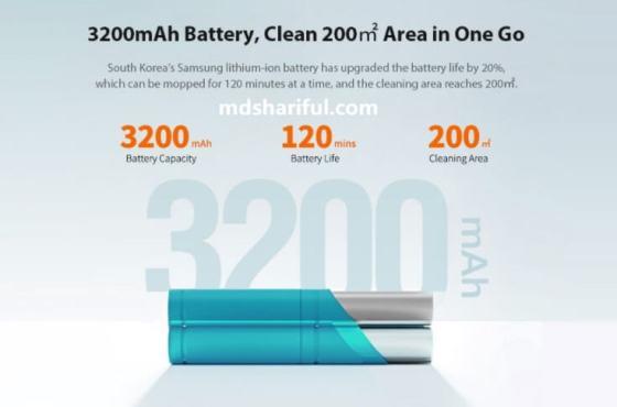 Xiaomi Viomi SE Review battery