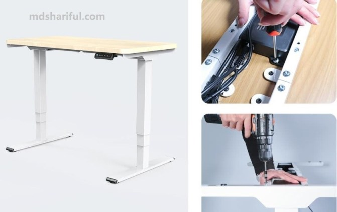 Acgam ET225E Electric Standing Desk Frame features