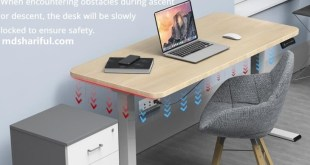 Acgam ET225E Electric Standing Desk Frame