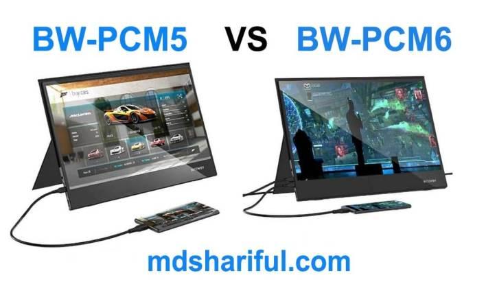 BW-PCM5 vs BW-PCM6
