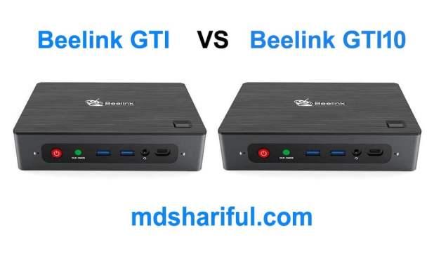 Beelink GTI vs GTI10