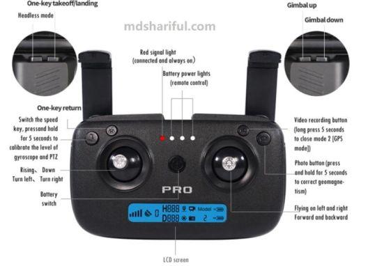 CSJ X7 Pro 2 control