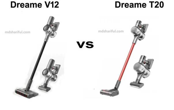Dreame V12 vs T20