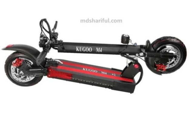 Kugoo Kirin M4 design