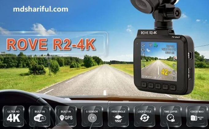Rove R2-4K Dash Cam design