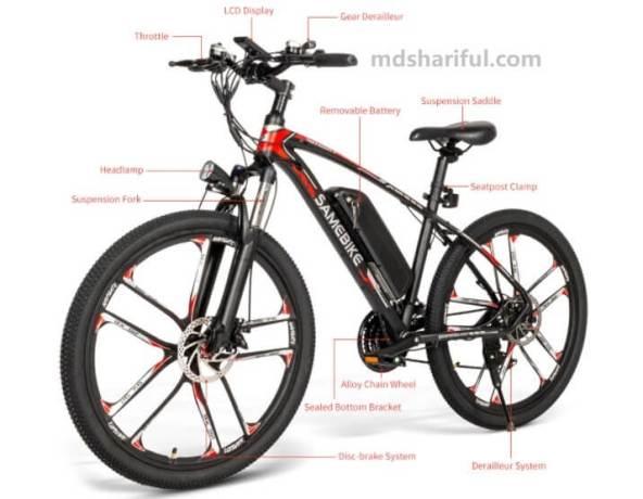 Samebike MY-SM26 design