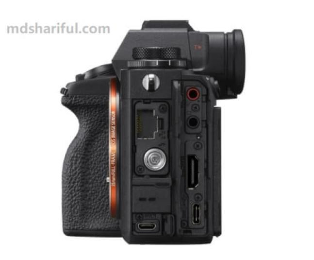 Sony Alpha 1 Review connection