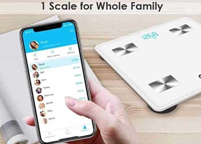 Arboleaf smart scale feature
