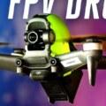 DJI FPV drone design