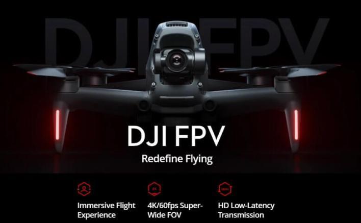 DJI FPV drone feature