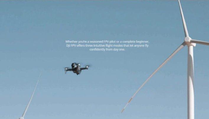 DJI FPV drone performence