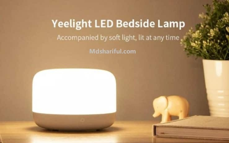 Yeelight LED bedside lamp 2 Review