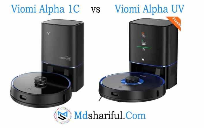 viomi alpha 1c vs alpha uv