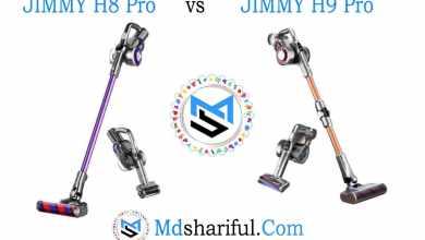 JIMMY H8 Pro vs H9 Pro