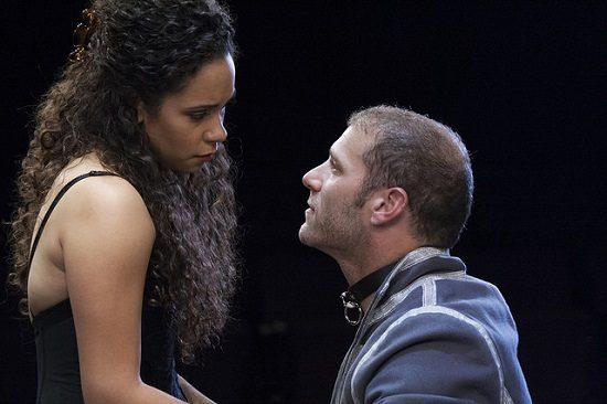 Kathryn Tkel as Vanda and Elan Zafir as Thomas.  Photo by Katie Simmons-Barth.