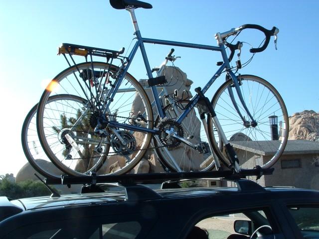 roof top bike rack pics acura mdx