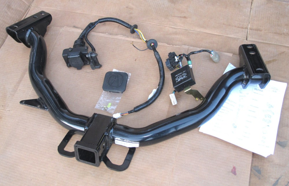 medium resolution of for sale 07 09 acura trailer hitch and harness hitch1 jpg trailer wiring harness installation 2007 acura mdx