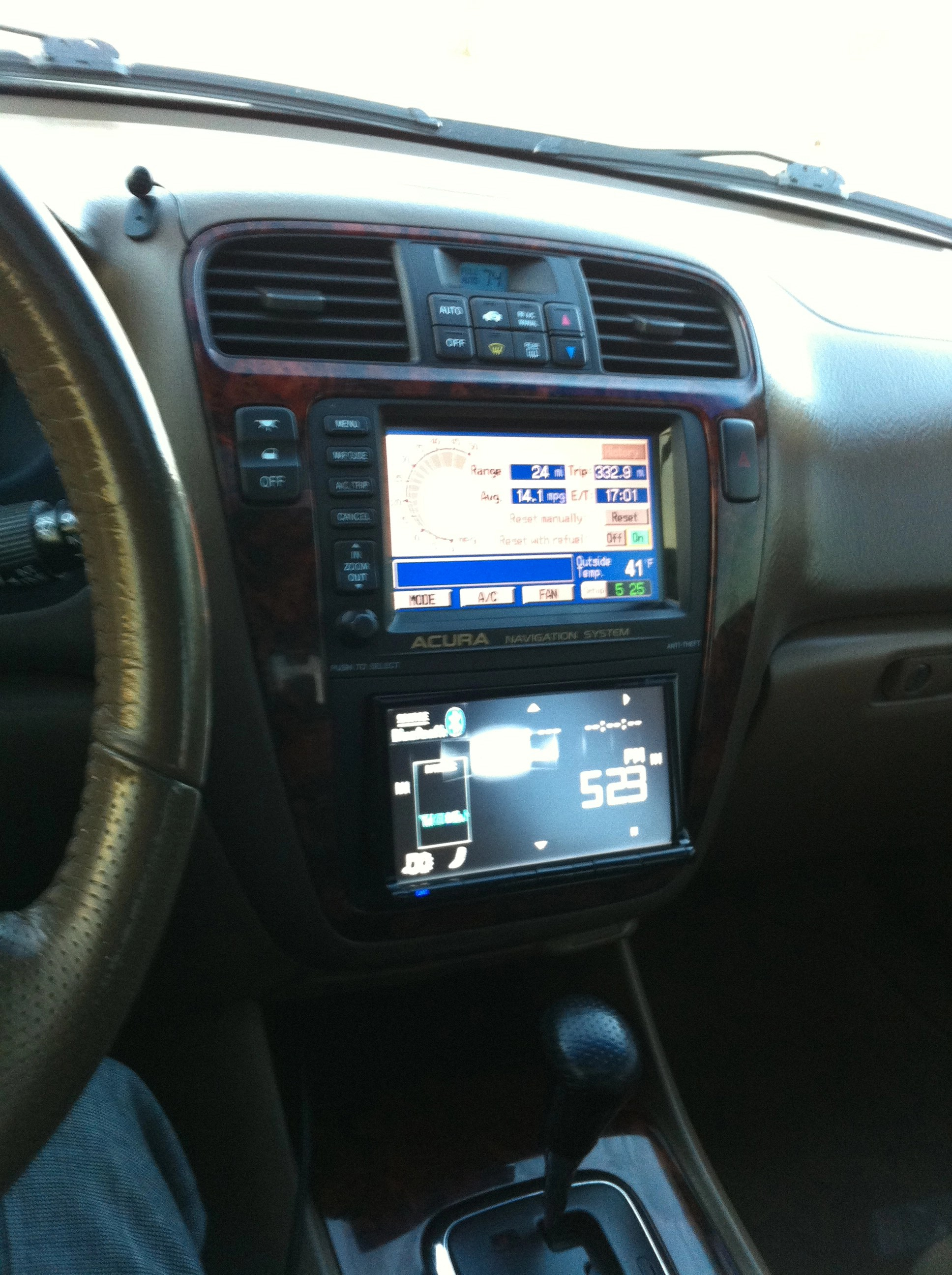 hight resolution of 2002 factory nav to after market stereo acura mdx forum acura rh mdxers org