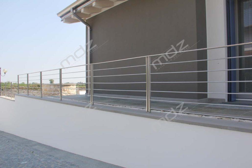 Parapetti per scale personalizzati ferro e acciaio inox  Vicenza