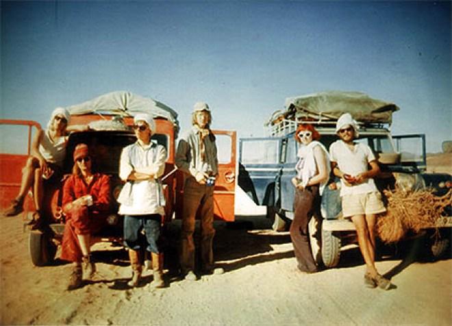 Afrika-expeditionen 1976-1977.