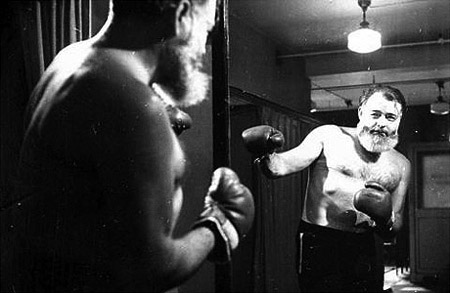Ernest Hemingway bakochfram