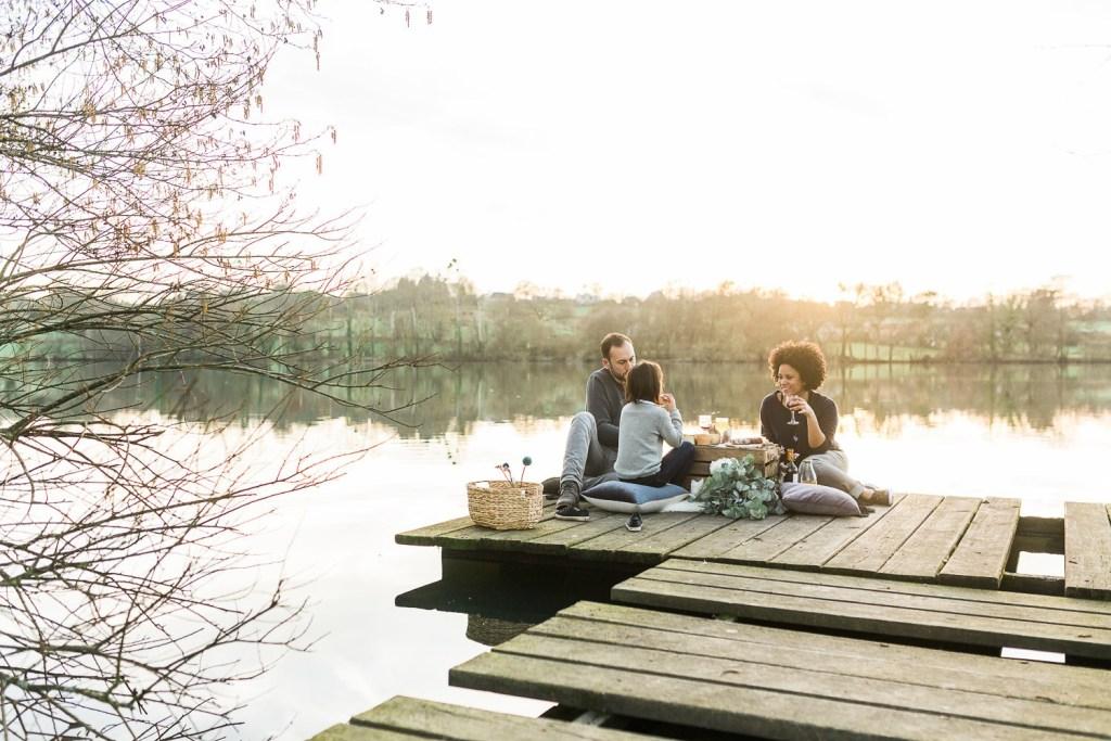 Un pique-nique en famille près de Liffré
