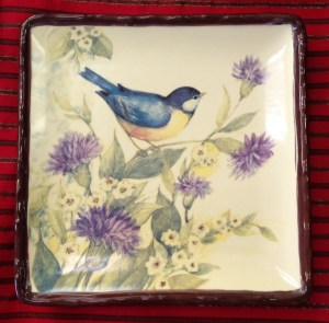78. Somerset Song Salad Plates, Set of Four