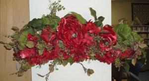 29. Red Rose Swag