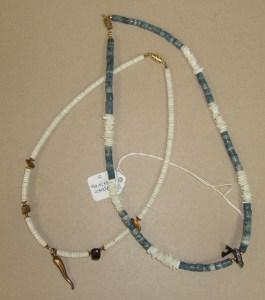 39. Two Coral Hawaiian Necklaces