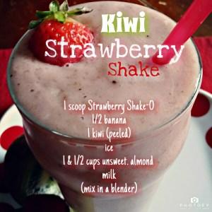 Strawberry Kiwi Shake