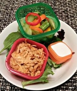 21 Day Fix Buffalo Salad Recipe