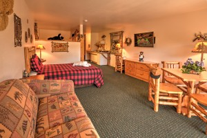 TheBunkhouse Suite at Meadowbrook Resort & DellsPackages.com in Wisconsin Dells