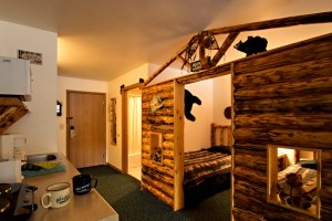 The Bunkhouse Suite at Meadowbrook Resort & DellsPackages.com in Wisconsin Dells