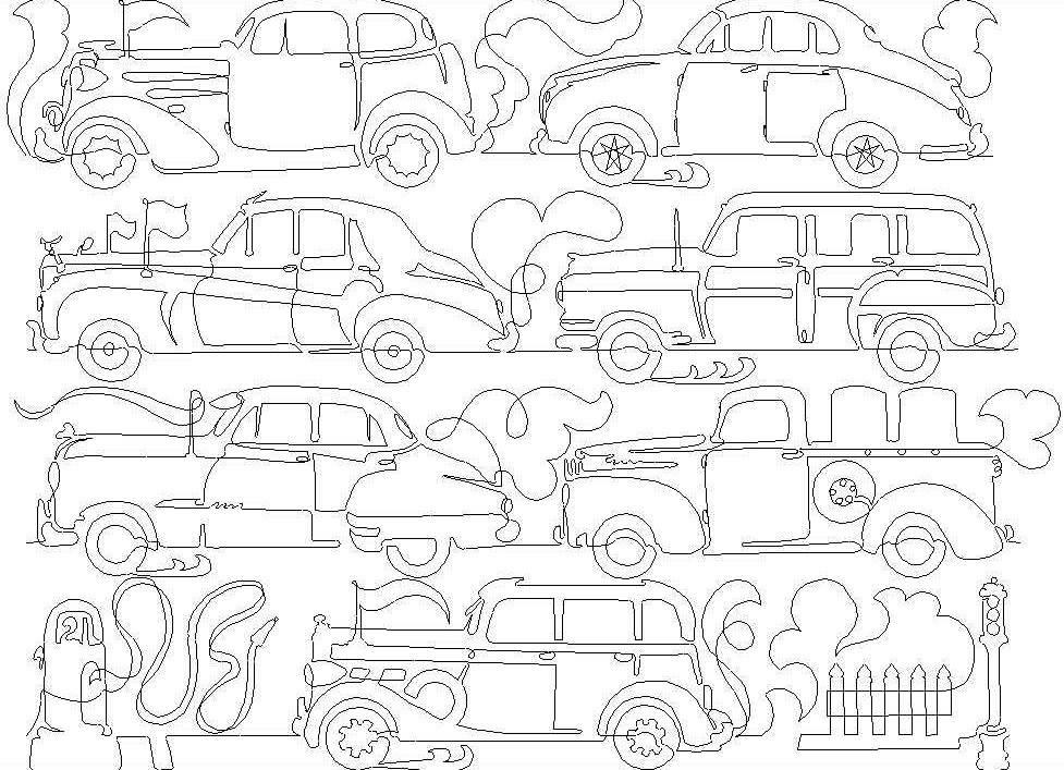 Car Classics 8″ Pictogram