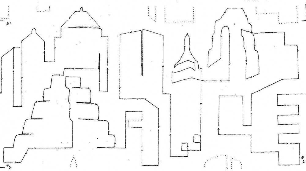 » Modern Skylines 11″ Interlocking Pantograph
