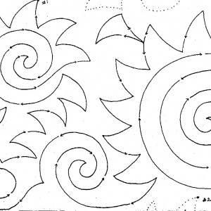 Spinning Kokopelli #1437 10″ Interlocking Pantograph