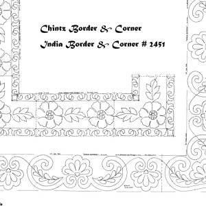 chintz + india borders